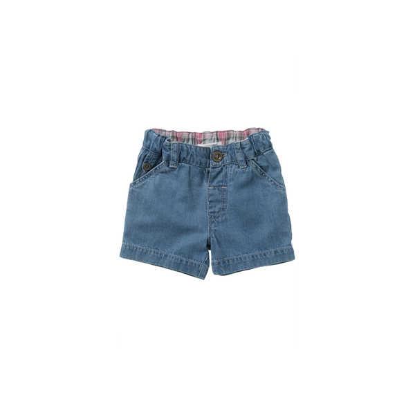 Purebaby Wagon Shorts - Chambray