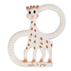 So'Pure Sophie the Giraffe Teething Ring - Soft Model