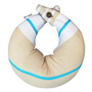 Tortellini Breastfeeding Cushion - White Light