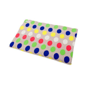 Uimi Dotty Organic Cotton Blanket - Acid