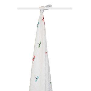 aden + anais organic cotton muslin wrap - snuggle bug