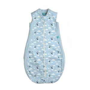 ergoPouch Bamboo and Organic Cotton Sleepbag Mild Weight 1 TOG - Rocket Blue