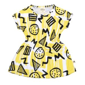 milk & masuki Organic Dress - Allsorts