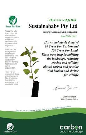 TreesForLifeCertificate