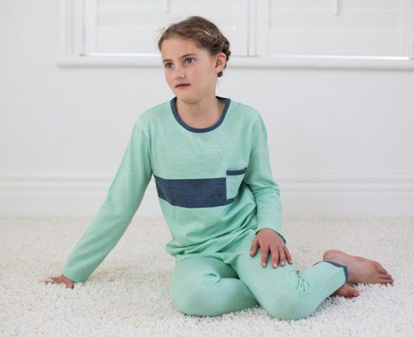 Banbury Merino Kids Shortie Pyjama Set for Babies 1-2 Years