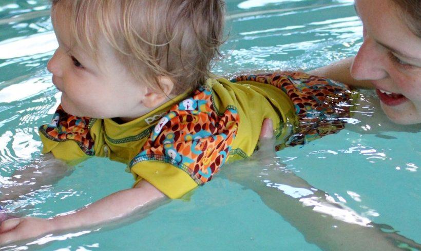Winter Water Babies- Just Keep Swimming!